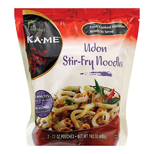 Kame Udon Stir Fry Noodles, 14.2 Ounce