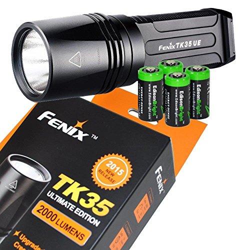 Ultimate TK35UE Flashlight EdisonBright batteries