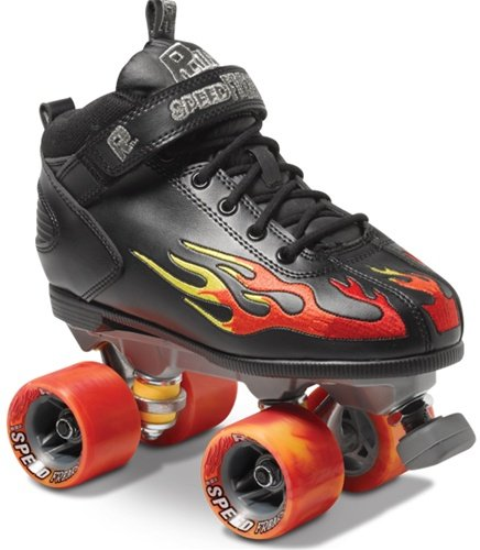 Sure-Grip Rock Flame Skates Complete