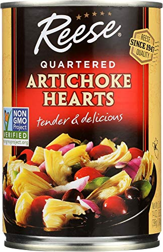 Reese Quartered Artichoke Hearts, 14-Ounces