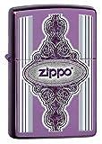 Zippo Vintage Frame Pocket Lighter, Abyss