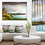 Hawaii Oahu Island Photography Canvas Art Print