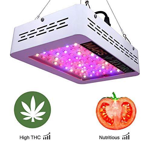 MARS HYDRO Led Grow Light 300W 600W 1200W Full Spectrum for Indoor Plants Veg and Flower Hydroponics Greenhouse Gardening Bloom (Mars 300W)
