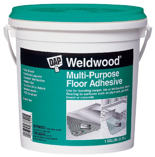Dap 00142 Weldwood Multi-Purpose Floor Adhesive, Gallon (Purpose Multi Floor Weldwood)
