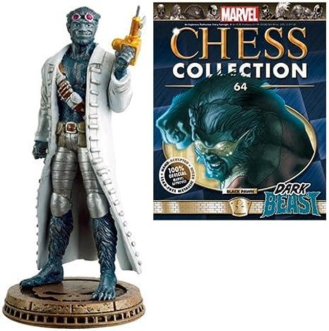 Amazon.com: Eaglemoss Publications Marvel Dark Beast Black ...