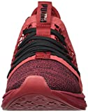 PUMA Men's Ignite Limitless SR Netfit Sneaker, Red