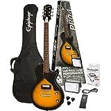 Epiphone PPEG-ENPLVSCH1-15 Electric Guitar Pack, Vintage Sunburst