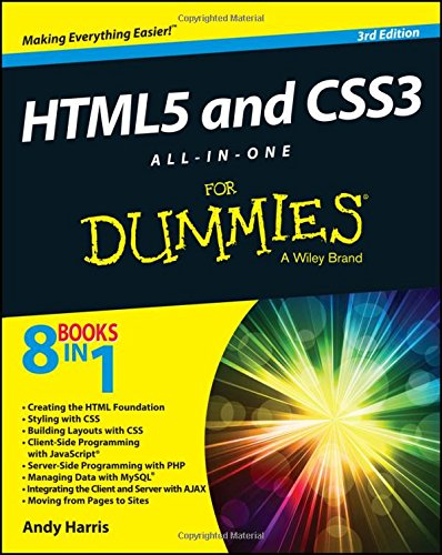 HTML5 and CSS3 All-in-One For Dummies by imusti