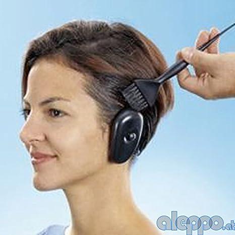 Peluquería orejeras oído – Protector de orejas para teñir el ...