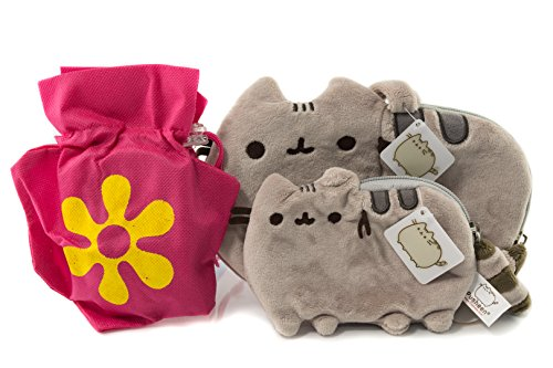 Pusheen Plush Wristlet and Coin Purse Gift Combo | 8