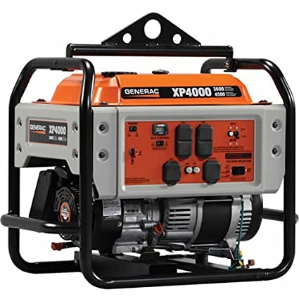 amazon com : generac power systems 5929 professional series portable  generator with electric start, 4000-watt (discontinued by manufacturer) :  portable
