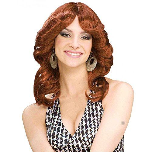 - 70s Disco Doll Wig Costume Accessory