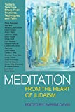 img - for Meditation from the Heart of Judaism: Today's Teachers Share Their Practices, Techniques, and Faith book / textbook / text book
