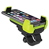 Bike Mount, iOttie Active Edge Bike & Bar, Motorcycle Mount for iPhone 7/6 (4.7)/5s/5c/4s, Galaxy S9 S9 Plus S8/S7 Edge/S6/S5- Retail Packaging - Electric Lime