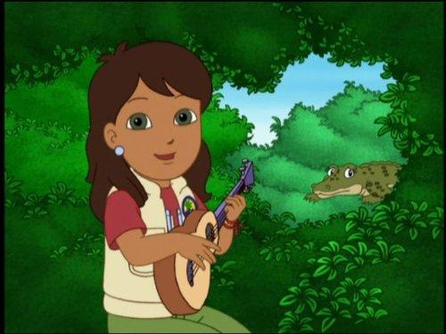 Alicia Saves the Crocodile! (Pond Racer)