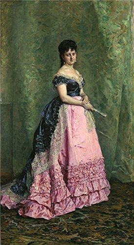 Oil Painting 'Madrazo Y Garreta Raimundo De Manuela De Errazu Ca. 1875', 24 x 44 inch / 61 x 111 cm , on High Definition HD canvas prints is for Gifts And Gym, Hallway And Study Room Decoration, pop