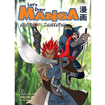 Lets Draw Manga: Ninja and Samurai (English Edition) eBook ...