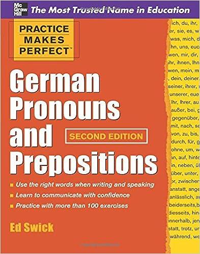 Amazon.com: Practice Makes Perfect German Pronouns and ...