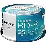 SONY ビデオ用ブルーレイディスク 50BNR1VJPP4 (BD-R 1層:4倍速 50枚パック)
