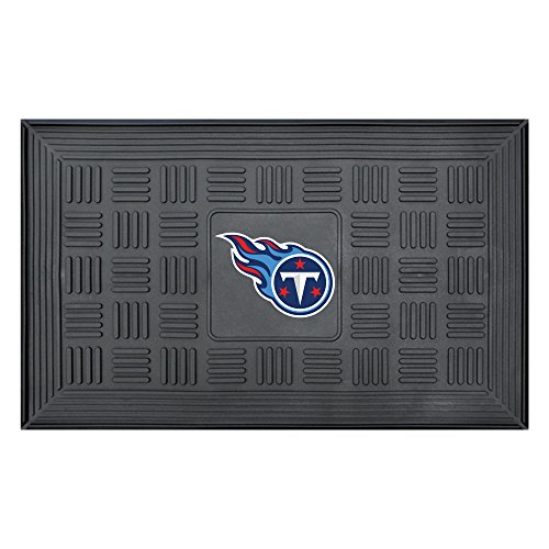 - NFL Tennessee Titans 3-D Team Medallion Vinyl Door Mat