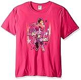 Trevco Unisex-Adults Brewster Punky Powered T-Shirt, Hot Pink, Medium
