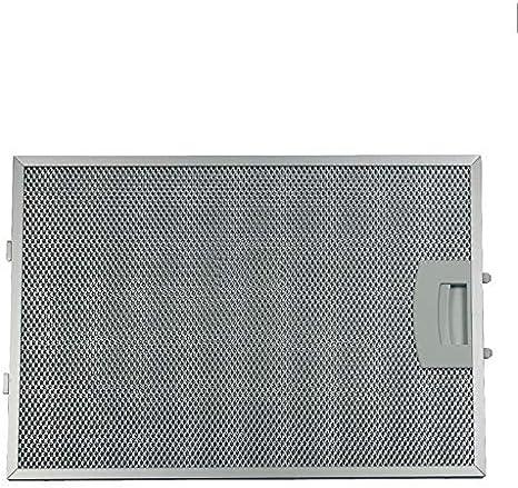 Filtro de grasa para campana extractora, de metal, de Bosch Siemens (362380): Amazon.es: Grandes electrodomésticos