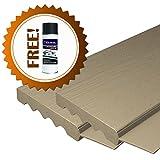 AOD Retail Weather Seal, Door weatherstrip also used as garage door seals, Garage Door Top and Side with 1 Lubricant (9 x 8, Almond) - Professional grade
