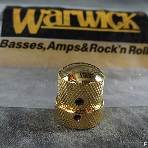 (Warwick Gold Knob For Stacked Pots Tone Volume Thumb Streamer Bass Parts)