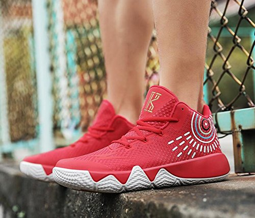 Size Top 43 Shoes B for Color Sneakers HUAN Athletic Booties Basketball Shoes Shoes Athletic High Non Men's Boots Ankle Slip wtq5x1HU