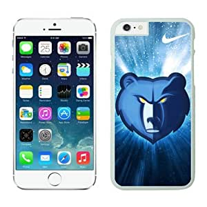 custom iphone 6 case,Case for iPhone 6 (4.7 Inch)-NBA-Memphis Grizzlies iPhone 6 Cases 1 White62797_58981