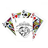 Seafood Fish Marine Organism Poker Playing Card Tabletop Board Game Gift