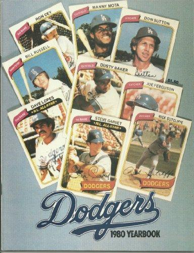 1980 Los Angeles Dodgers Yearbook