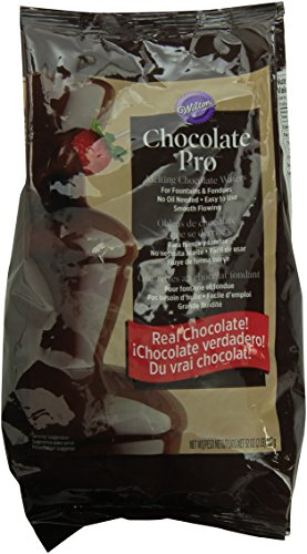 Wilton Chocolate Pro Fountain & Fondue Chocolate Wafers, 2 Pounds