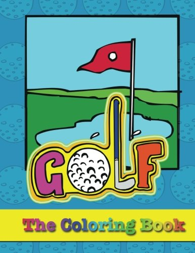 Golf Coloring Book Pat Mullaly product image