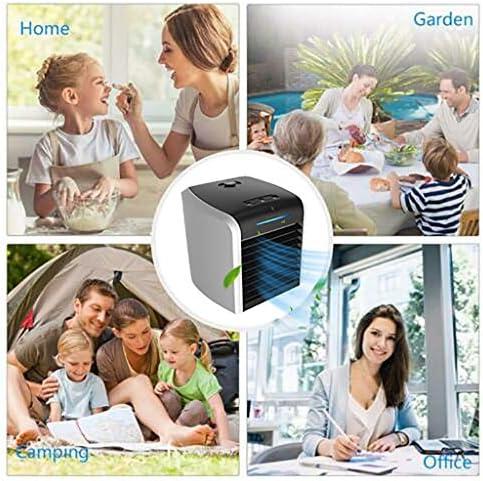Mini Persönliche Klimaanlage, Mobile Klimagerät Klimaanlage,7 verschiedene Farben, Luftkühler tragbar Ventilator Luftbefeuchtung für Schlafzimmer Wohnzimmer Büro Reise