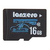 Lanzero 16GB Micro Sd Class10 TF Tachograph Memory Card for Xiaomi Yi EKEN H9 EKEN H8 sj5000x sj5000 plus K6000 sj4000 M20 Gitup 2 H8R H8 Pro Car DVR Action Camera