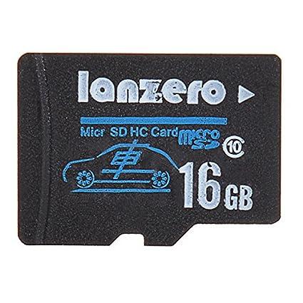 JenNiFer Lanzero 16Gb Micro SD Class10 TF Tacógrafo Tarjeta ...