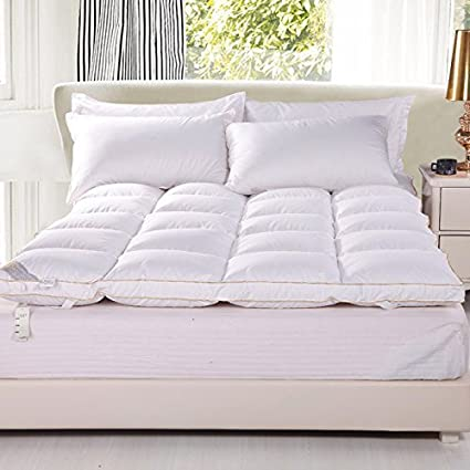 Amazon Com Rose Feather 20 80 White Goose Down And Feather Mattress