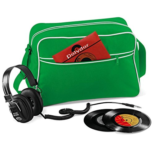 Green Shoulder Bag Retro Bagbase White Pure xHIFYgwq