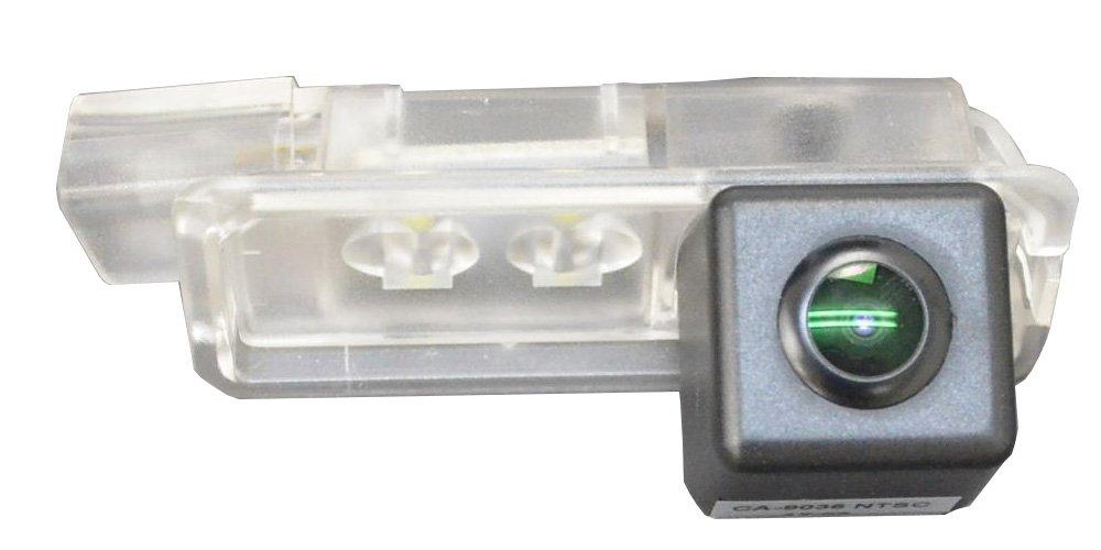 ファクトリーダイレクト バックカメラRC-VWDS-LED08 VW フォルクスワーゲン 車種別設計CCDバックカメラキット PoloMarkV ポロ(6R 2009以降) ナンバーレンズ交換タイプ B073WR8X16