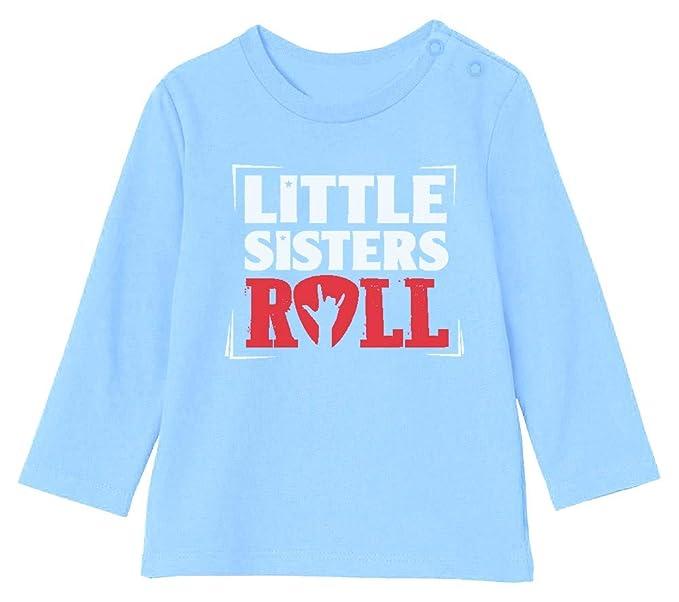 Camiseta bebé Unisex Manga Larga - Little Sisters Roll ...