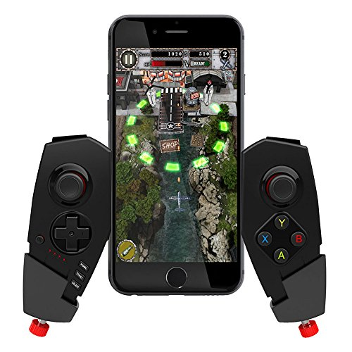 IPEGA PG-9055 PG 9055 Red Spider Wireless Bluetooth Gamepad Game Controller Gaming Joystick for Android Phone Samsung S7 8 S9 Huawei P20 vivoX 21 Android Tablet PC