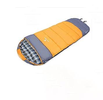 Saco de Dormir para Adultos Grueso algodón Four Seasons Camping Saco de Dormir Doble Capa Saco de Dormir de: Amazon.es: Juguetes y juegos
