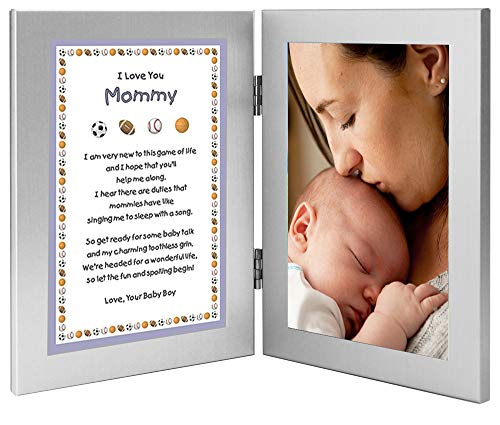 Gift for New Mom from Son – Mommy Gift From Baby Boy – Add Photo