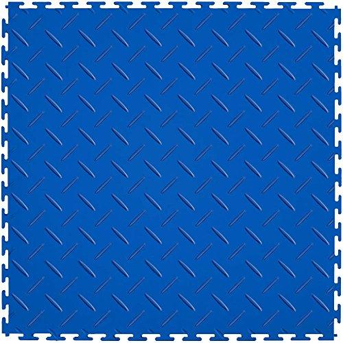 Vinyl Plate Flooring Diamond (IT Tile ITLDP450DB45 Diamond Plate)
