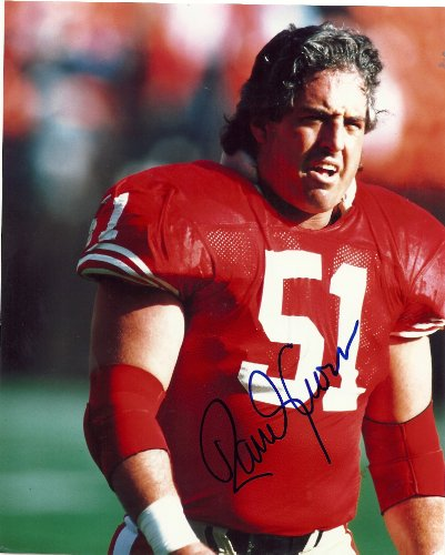 (Randy Cross, San Francisco 49ers, Niners, Ucla Bruins, Signed, Autographed, 8x10 Photo, Coa, Rare Hard Photo to Find)
