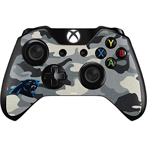 (Skinit Carolina Panthers Camo Xbox One Controller Skin - Officially Licensed NFL Gaming Decal - Ultra Thin, Lightweight Vinyl Decal Protection)