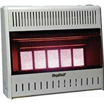 World Marketing/Kozy World Model # KWN321 Wall Heater - Natural Gas/Infrablue Vent Free 30000 BTUs