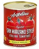 Antolina San Marzano Style Italian Whole Peeled Tomatoes 28 oz.