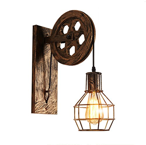 Retro Wall Lamp Night Copper Industrial Retro Corridor Coffee